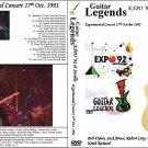 "GUITAR LEGENDS EXPO' Sevilla 1992 ""Experimental Night"" Dvd R"