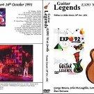 "GUITAR LEGENDS EXPO' Sevilla 1992 ""Fusion Night"" Dvd R"