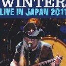 "JOHNNY WINTER ""Live In Japan 2011"" DVD R"