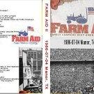 """Various Artists """"Farm Aid II - 1986-07-04 - Austin, TX"""" 2 DVD R"""