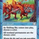 Magic the Gathering Card - Shifting Sky (Planeshift)