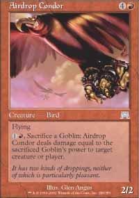 Magic the Gathering Card - Airdrop Condor (Onslaught)