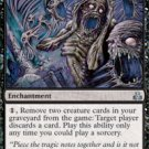 Magic the Gathering Card - Cryptwailing (Guildpact)