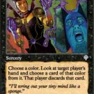 Magic the Gathering Card - Addle (Invasion)