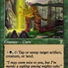 Magic the Gathering Card - Elder Druid (7th Edition)