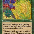 Magic the Gathering Card - Saproling Infestation (Invasion)