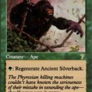 Magic the Gathering Card - Ancient Silverback