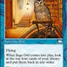 (4) Magic the Gathering Cards - Sage Owl