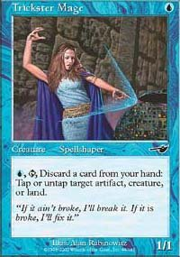(4) Magic the Gathering Cards - Trickster Mage