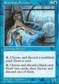 (4) Magic the Gathering Cards - Krovikan Sorcerer