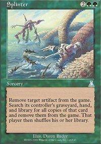 Magic the Gathering Card - Splinter (Urza's Destiny)