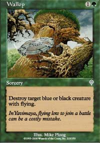 Magic the Gathering Card - Wallop (Invasion)