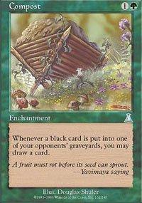 Magic the Gathering Card - Compost (Urza's Destiny)
