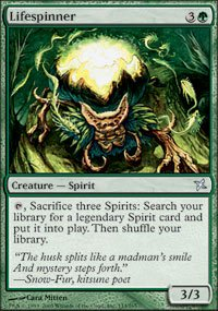 Magic the Gathering Card - Lifespinner (BoK)
