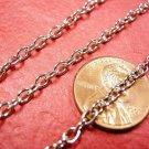 5 feet 4x3mm antique silver finish metal chain-3074C