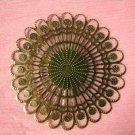 6pc 65mm antique bronze nickel free filigree wrap-2087