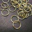 150pc 9mm golden jump rings-3006