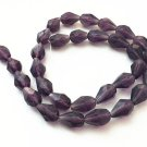 14 Inch Strand Of Transparent Teardrop Faceted Glass Beads 11x8mm (31 bead)-8318