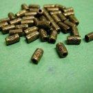 30pc antique bronze finish lead nickel free tube beads-2429