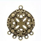 4pc antique bronze finish Chandelier Component/connector-2603