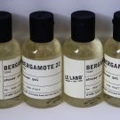 Lot of 4 x 50 ml Le Labo Bergamote 22 Shower Gel Park Hyatt Hotel Travel Size Set