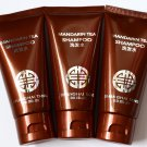 Lot of 3 x 50 ml Shanghai Tang MANDARIN TEA Hair Shampoo Hotel Travel Set