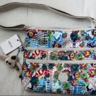 Kipling Alvar Tote Crossbody Bag Daisy Dance Print HB6141 Multi New