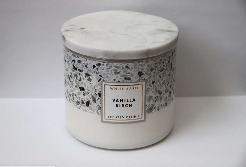 Bath & Body Works White Barn Vanilla Birch Candle Large 3-Wick Limited Edition