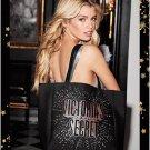 Victoria's Secret Limited Edition Love Star Celestial Bag Tote Purse Black New