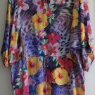 $178 NWT Nanette Lepore Tropical Swim Cover-Up Dress Tunic XS Multi Floral New