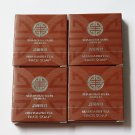 4 x 1 oz Shanghai Tang MANDARIN TEA Perfumed Bath Soap Bar Hotel Travel Lot Set