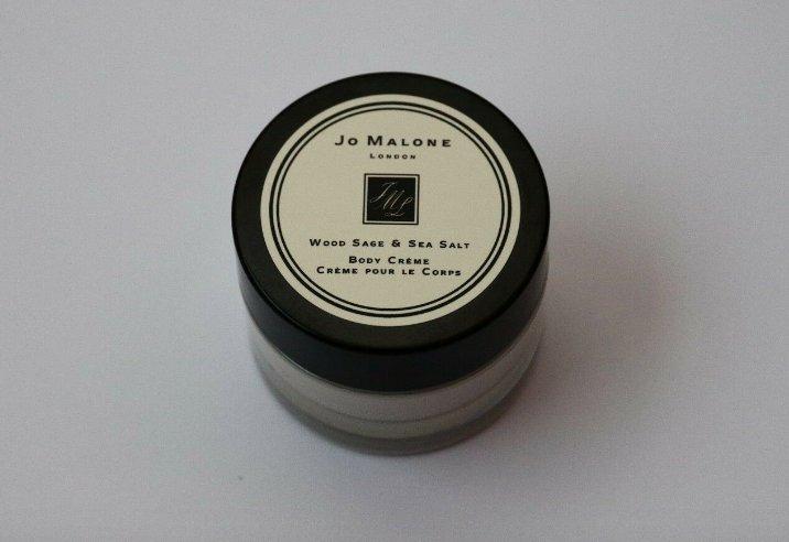Jo Malone Wood Sage & Sea Salt Body Cream Travel .5oz 15ml Travel Deluxe Sample