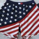 Tommy Hilfiger Men`s Boxers Shorts American Flag Underwear M 32 34 Cotton New