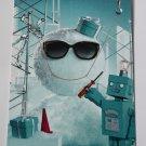 Tiffany & Co Postcard Christmas Made by Tiffany Snowman Holidays Greetings Card