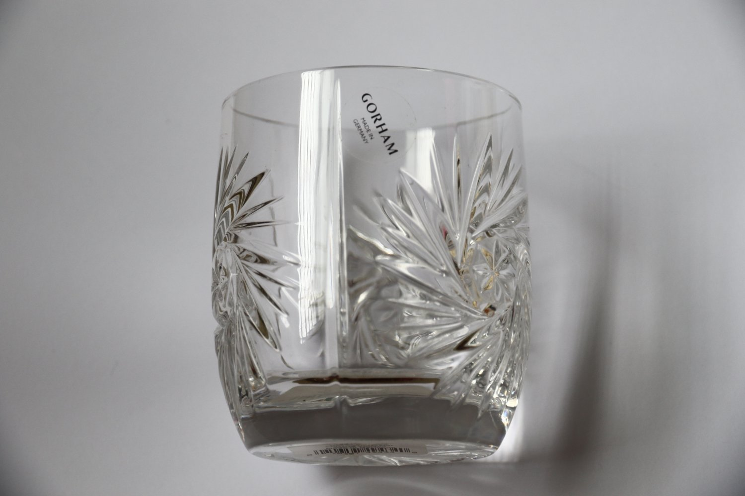 GORHAM MM Astra Crystal Glass Old Fashioned Full Lead SKU 789404 Tumbler Germany