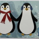 American Express Collectible Gift Card Christmas Penguins Empty No $0 Value