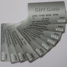 10 Visa MetaBank Collectible Grey Debit Credit Gift Card Empty No $0 Value