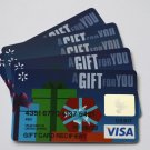 5 Visa Collectible Debit Credit Gift Card Empty No $0 Value Sunrise Bank