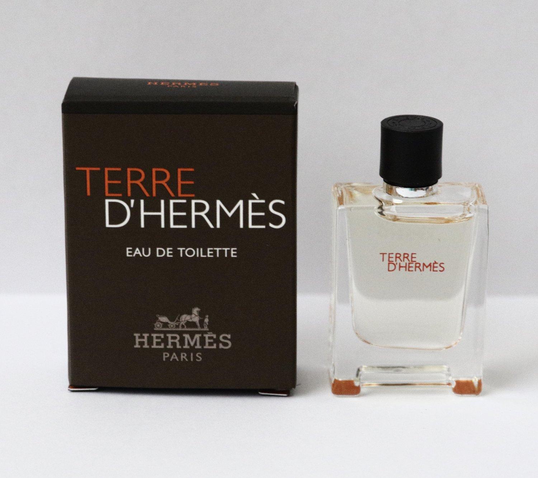 Terre d`Hermes Eau de Toilette Mini EDT Travel Perfume
