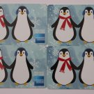 4 American Express Bank Card Penguins Collectible Debit Credit Gift Empty No $0 Value
