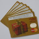 7 Master Card Collectible Debit Credit Gift Card Empty No $0 Value US Bank