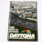 2006 NASCAR Official Fan Guide Information Booklet Brochure Daytona Speedway 66p