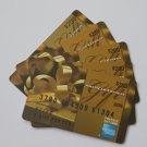 5 American Express Bank Card Collectible Debit Credit Gift Card Empty No $0 Value