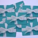 10 Tiffany Co $0 No Value Collectible Blue Used Empty Gift Cards Lot Decor Craft
