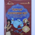 Disney Aladdin 2 Pop-Up Postcard Art Kit