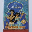 Disney Aladdin Pixel Stickers Cards Set