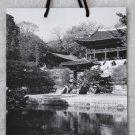 """Park Hyatt Seoul Luxury Hotel Large Paper Gift Bag 15"""" x 11.5"""" Black & White"""
