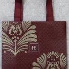 Raffles Luxury Hotel Paper Gift Shopping Bag Burgundy