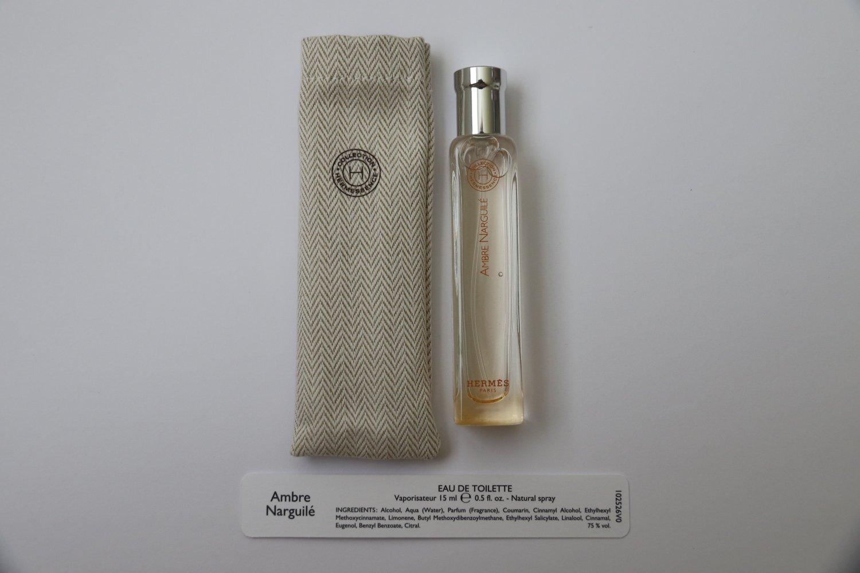 Hermes Hermessence Ambre Narguile Eau de Toilette 15 ml Travel .5 oz EDT New