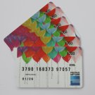 6 American Express Bank Card Birthday Balloons Collectible Debit Credit Gift Empty No $0 Value